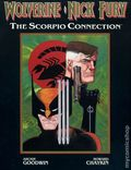 Wolverine/Nick Fury The Scorpio Connection HC (1989 Marvel) 1-1ST