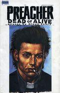 Preacher Dead or Alive - Covers by Glenn Fabry HC (2000 DC/Vertigo) 1-1ST