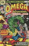 Omega The Unknown (1976) 30 Cent Edition 2