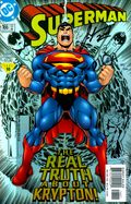 Superman (1987 2nd Series) 166B.DF.SIGNED
