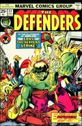Defenders (1972 1st Series) Mark Jewelers 22MJ