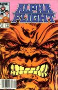 Alpha Flight (1983 1st Series) Mark Jewelers 10MJ