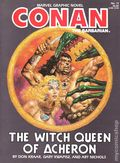 Conan the Barbarian The Witch Queen of Acheron GN (1985 Marvel) 1-1ST