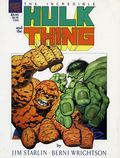 Incredible Hulk and the Thing The Big Change GN (1987 Marvel) 1-1ST