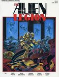 Alien Legion A Grey Day to Die GN (1986 Marvel) 1-1ST