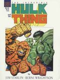 Incredible Hulk and the Thing The Big Change GN (1987 Marvel) 1-REP