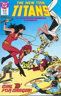 New Teen Titans (1984 2nd Series) New Titans 45