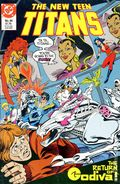 New Teen Titans (1984 2nd Series) New Titans 44