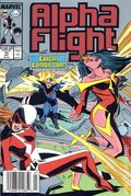 Alpha Flight (1983 1st Series) 72