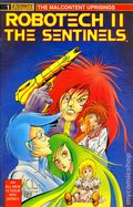 Robotech 2 The Sentinels The Malcontent Uprisings (1989) 1