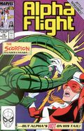 Alpha Flight (1983 1st Series) 79