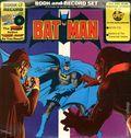 Batman Book and Record Set (1975 Power Records/Peter Pan) 512R