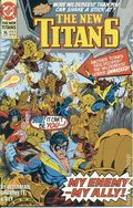 New Teen Titans (1984 2nd Series) New Titans 75