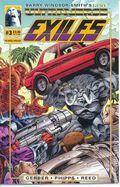 Exiles (1993 1st Series Malibu) 3