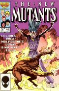 New Mutants (1983 1st Series) 44