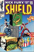 Nick Fury Agent of SHIELD (1968 1st Series) 1