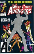 West Coast Avengers (1984 Limited Series) Mark Jewelers 2MJ