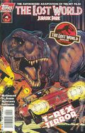 Lost World Jurassic Park (1997 Topps) 4A