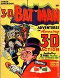 3-D Batman (1953) 1966.NOGLASSES