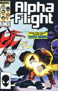 Alpha Flight (1983 1st Series) 31