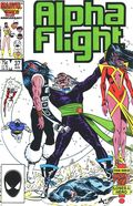 Alpha Flight (1983 1st Series) 37
