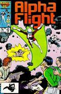 Alpha Flight (1983 1st Series) 42