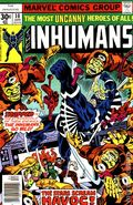 Inhumans (1975 1st Series) 10