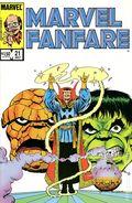 Marvel Fanfare (1982 1st Series) 21