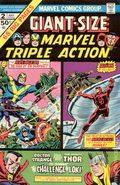 Giant Size Marvel Triple Action (1975) 2