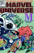 Official Handbook of the Marvel Universe (1983-1984 Marvel) 7