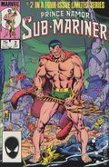 Prince Namor the Sub-Mariner (1984 Marvel) 2