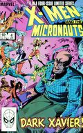 X-Men and the Micronauts (1984) 4