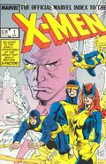 Official Marvel Index to the X-Men (1987 1st Series) 1
