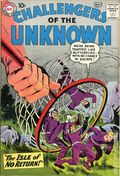 Challengers of the Unknown (1958 DC 1st Series) 7