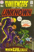 Challengers of the Unknown (1958 DC 1st Series) 71