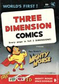 Three Dimension Comics Mighty Mouse (10/1953 2nd Printing) 1N