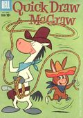 Quick Draw McGraw (1960-1962 Dell/Gold Key) 3