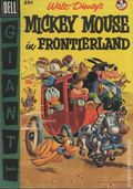 Dell Giant Mickey Mouse in Frontierland (1956) 1