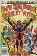 Vision and the Scarlet Witch (1982 1st Series) 4