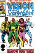 Vision and the Scarlet Witch (1985 2nd Series) 8
