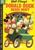 Dell Giant Donald Duck Beach Party (1954-1959 Dell) 5A