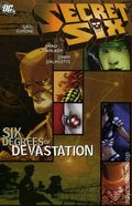 Secret Six Six Degrees of Devastation TPB (2007 DC) 1-1ST
