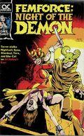Femforce Night of the Demon (1990) 1