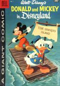 Dell Giant Donald and Mickey in Disneyland (1958) 1