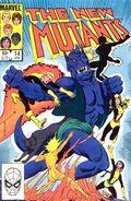 New Mutants (1983 1st Series) Mark Jewelers 14MJ