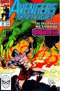 Avengers Spotlight (1989-1991 Marvel) 35