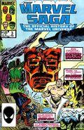 Marvel Saga (1985) 3