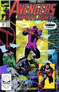 Avengers Spotlight (1989-1991 Marvel) 33