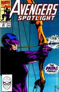 Avengers Spotlight (1989-1991 Marvel) 36
