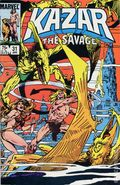 Ka-Zar the Savage (1981 Marvel) 31